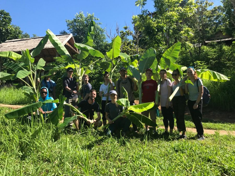 As part of the MBS Global Studies program, 14 students and 4 faculty members traveled to Laos and Cambodia this past summer.