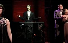 Left: Sally Bowles (Whitney McDonnell '20) delivers a moving performance of