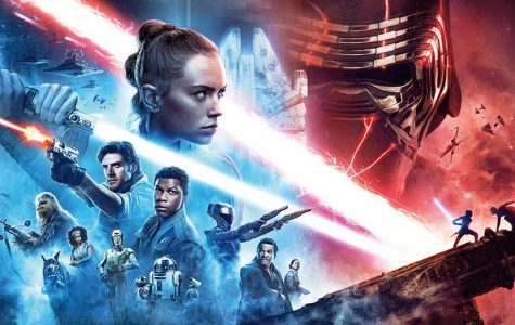 Poster for the latest Star Wars movie, The Rise of Skywalker.