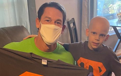 John Cena visits child with Stage 4 cancer.