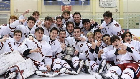 MBS Boys Hockey Wins The Mennen Cup Back-to-Back